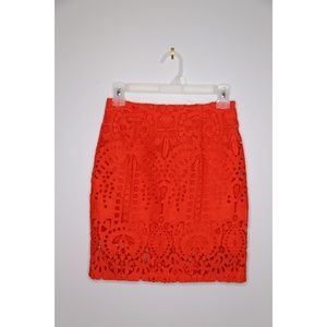 NWT Size S Mini Lace Fit Skirt